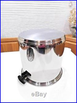 Townecraft Chefs Ware 20 Qt Stock Pot & LID 1100 Series T304 Stainless Waterless