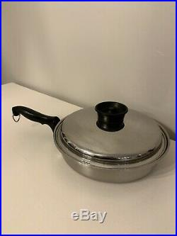 Townecraft Chefs Ware Tri-ply Stainless Cookware 6 pc set Multi core Stock Pot