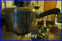 UNUSED WITH TAGS Vintage Set of Kaylan Ware Copper Clad Cookware