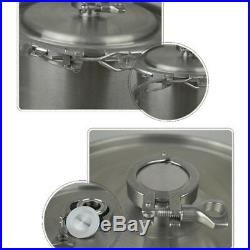 USA19L/ 5Gallon Home Stainless Steel SS304 Brew Kettle Boil Stock Pot with Lid