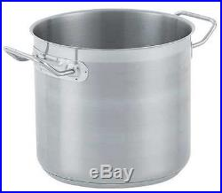VOLLRATH 3506 Stainless Steel Stock Pot, 27 Qt
