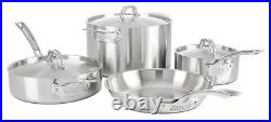 Viking Professional 5-Ply Stainless Steel 7 Piece Cookware Set