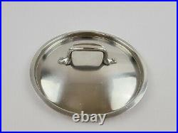 Vintage All-Clad LTD Hard Anodized Stainless Steel 4 Quart Stock Pot with Lid