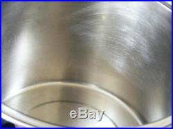 Vintage Lifetime West Bend 8 Qt Stock Pot T 304 Stainless Steel Custom Free Sh