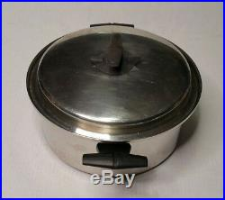 Vintage Vollrath Vacumatic Stainless Steel 6 Quart Stock Pot USA