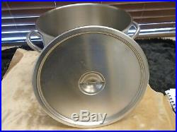 Vollrath 20 quart Stainless Steel NSF Stock Pot New Model# 78610
