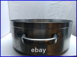 Vollrath Stainless Aluminum Clad Centurion 15 Qt Brazier Pan Stockpot Dutch Oven