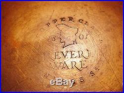 Vtg Revere Ware 12 Quart Stock Pot Pre'68 Stainless Steel Bakelite Handles VGC