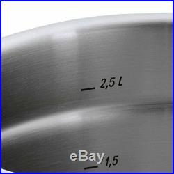 WMF Stock pot Ø 24 cm approx. 8,8l Premium One Inside scaling vapor hole