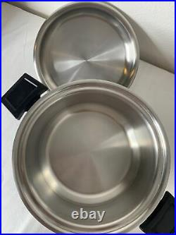 West Bend Americraft Kitchen Craft Stainless 4 Qt Slow Cooker Base & Stock Pot