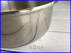West Bend Kitchen Craft Stainless Pot Liquid Core Dutch Oven Stock 4 Qt. Vapor