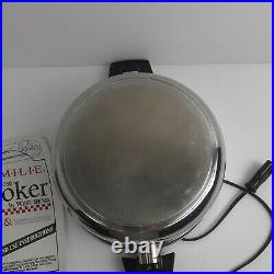 West Bend Kitchen Craft Stainless Steel 4 qt Pot Familie Slow Cooker