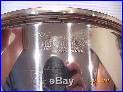 West Bend Lifetime 20 QT Quart Roaster Stock Pot T304CC 12 Ply Stainless Steel