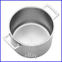 ZWILLING Aurora 5-Ply Stainless Steel 8-Qt. Stockpot